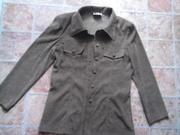 велюровый блузка-пиджак